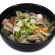 Vietnamese Pho soup bowl — Stock Photo #67768779