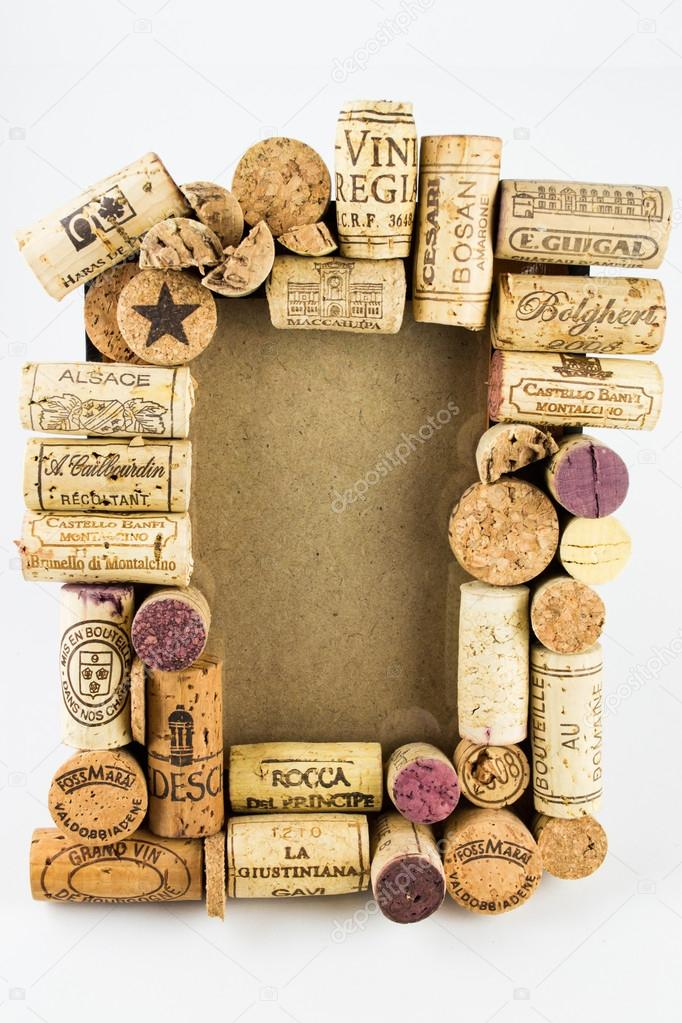 wine cork frame stock photo 62421747