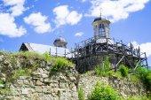 Half-ruined Sieniawski Castle — Stock Photo