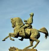 Monumento ad amedeo di savoia. torino. parco del valentino — Stock Photo
