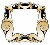Modern Style Frame — Stock Vector