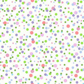 Seamless Pattern With Colorful Confetti — Stock Vector