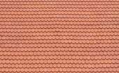 Red Tiles Roof of Temple — Stock Photo