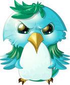 Angry bird — Stock Vector