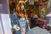 Cool mannequin of a store in Harajuku district in Tokyo, Japan — Stock Photo