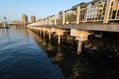 Pier at Odaiba island, Tokyo, Japan — Stockfoto