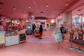 Ultimately pink store In Tokyo, Japan — Stock Photo