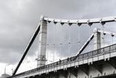 Krymsky Bridge In Moscow, Russia — Stock Photo