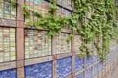 Colorful mosaic wall In Seoul, South Korea — Stock Photo