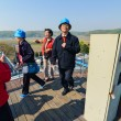 Tourists at the Korean Demilitarized Zone tour — Zdjęcie stockowe #62717867