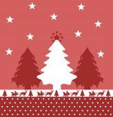 Noel köknar — Stok Vektör
