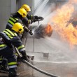 Firefighters in action — Stock Photo #72460283