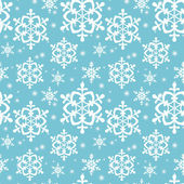 Seamless pattern with snowflakes. Vector background. — Stock Vector