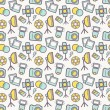 Photographic seamless pattern. Vector background. — Stock Vector #66226685