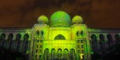 Kuala Lumpur : Light And Motion Putrajaya was held at Putrajaya Malaysia from 12 December to 14 December 2014 — ストック写真