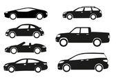 Cars — Stock Vector