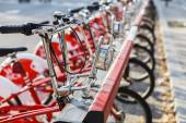 Healthy Transport in the city — Stock Photo