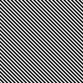 Seamless Vector Black White Diagonal Strips Pattern Background — Stock Vector