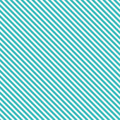 Seamless Vector Sea Green White Diagonal Strips Pattern Background — Stock Vector