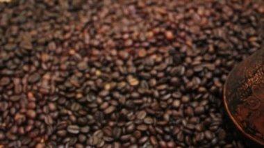 Coffee beans — Стоковое видео