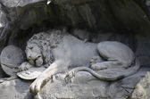 The Lion monument, or Lion of Lucerne in Lucerne Switzerland. — Stock Photo