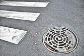 Manhole — Stock Photo