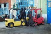 Forklift — Stock fotografie