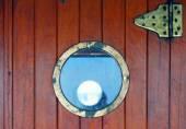 Ventana circular — Foto de Stock