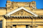 Neoclassical building detail — Stock Photo