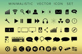 Set of 50 universal modern icons for web and mobile — Stock Vector