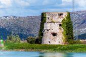 Vestiges de fortification de construction de l'Empire Ottoman en Croatie — Photo