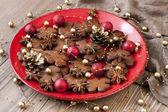 Homemade Christmas cookies — Stockfoto