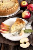 Homemade  Apple Pie Dessert Ready to Eat — Stockfoto