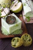 Wellness instelling in groene Toon — Stockfoto