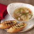 Chicken noodle soup — Stock Photo #69749705