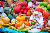 Harvest vegetables sold at the fair — Stock Photo
