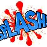 Comic sound effect splash — Stock Vector #53640771