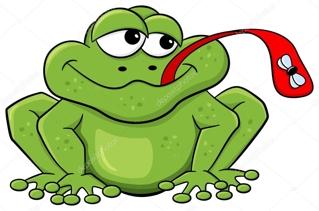 как жаба ловит добычу