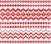 Sömlös stickad mönster — Stockvektor