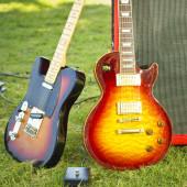 Outdoor music — Stock Photo