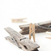 Tweezers and clothespins — Stock Photo