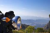 Chromed motorbike trip — Stockfoto