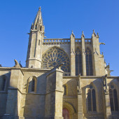 Medieval cathedral — Stock Photo