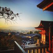 Kyoto cityscape — Stock Photo