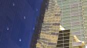 Glass skyscrapers — Stock Photo