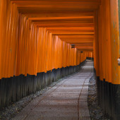 Shinto traditional path — Stock Photo