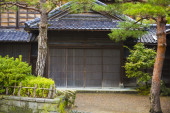 Japanese ancient house — Stock Photo