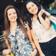 Beautiful shopping girls — Stock Photo #54307201