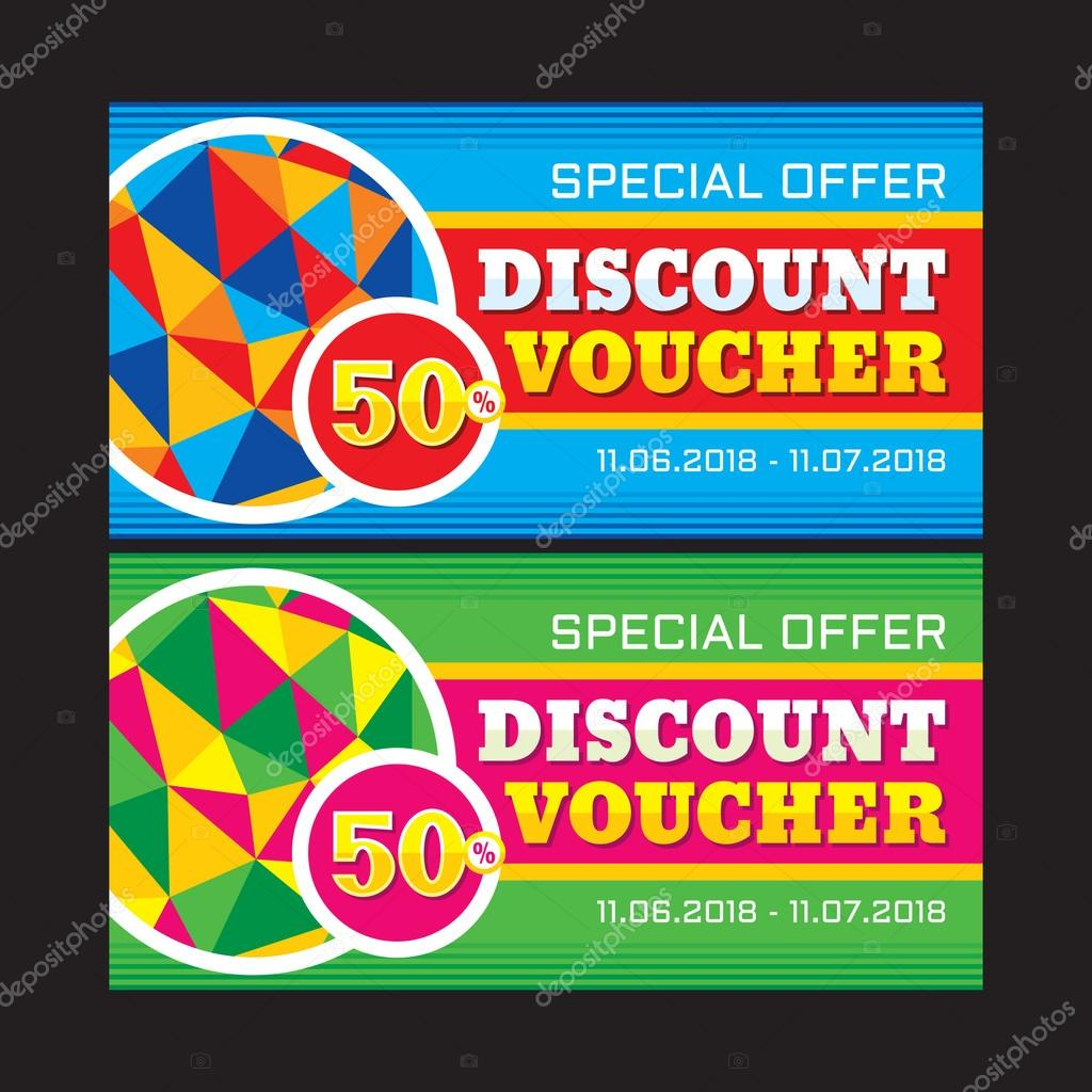 discount voucher vector layout % special offer vector discount voucher vector layout 50% special offer vector banner abstract background super big design layout discount flyer design