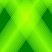 Abstract green background. Bright green lines. Geometric pattern in green colors. Digital art. — Stock Photo